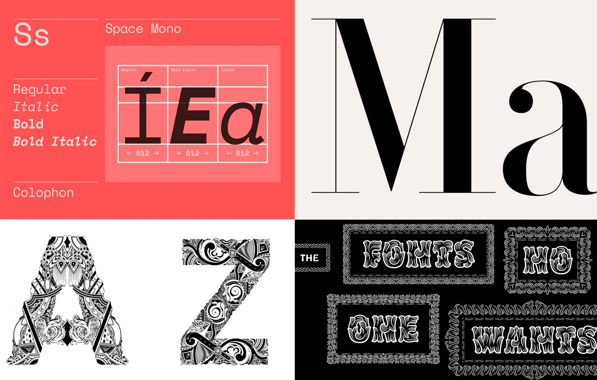 New type: Google Fonts, Hobo Rococeaux, Johnston100 and more…