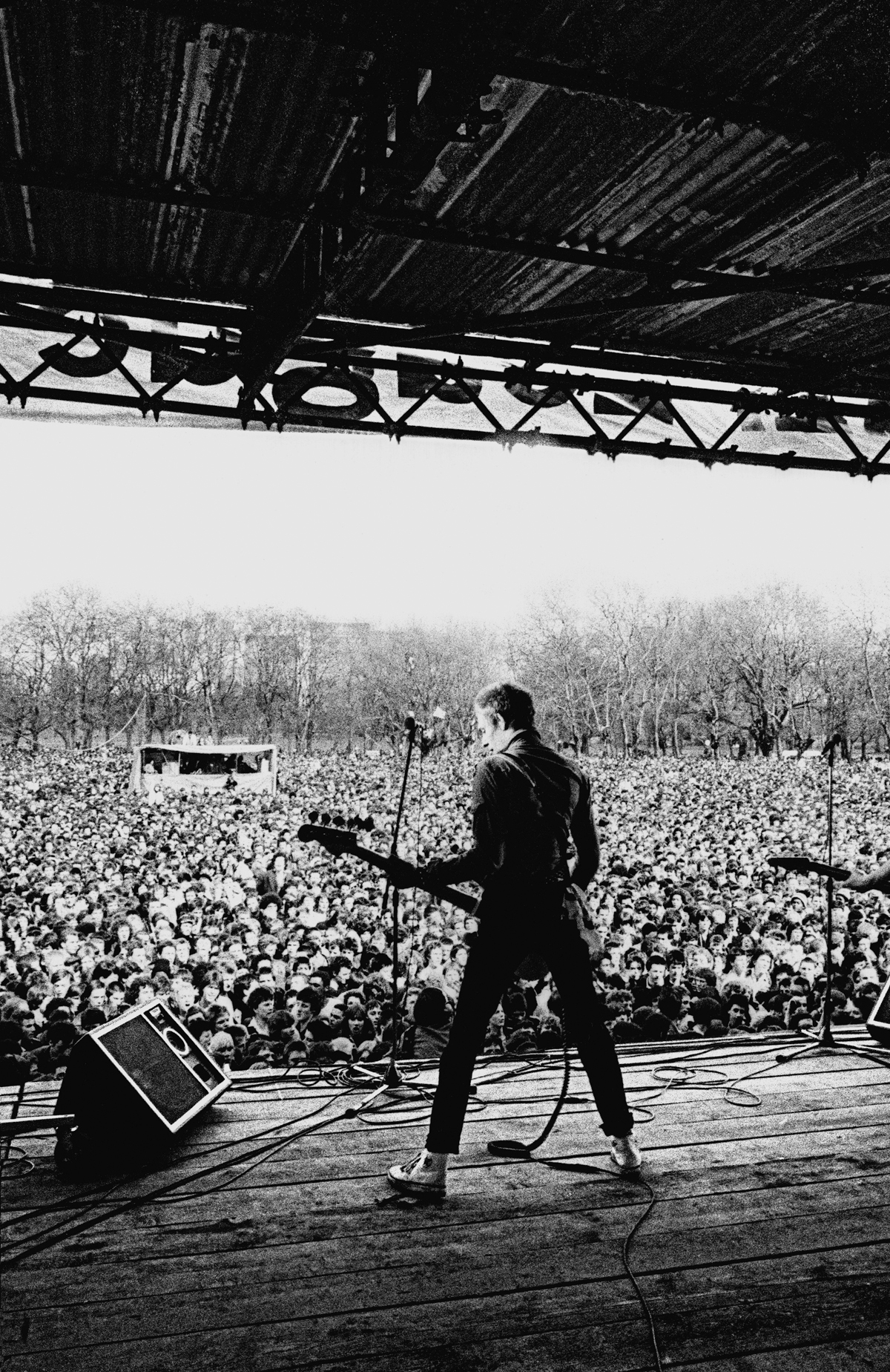 Paul Simonon, The Clash, Victoria Park 30 April, 1978