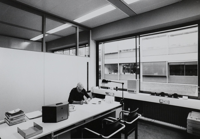 Rams at work at Braun, circa 1980s