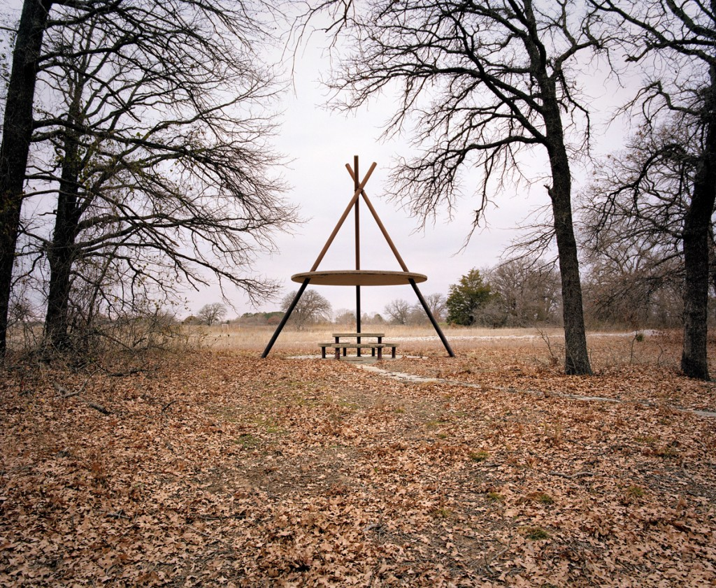 Rest stop at Thackerville, Oklahoma, from The Last Stop: Vanishing Rest Stops of the American Roadside, by Ryann Ford
