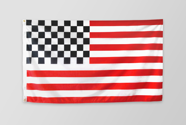 US racing flag
