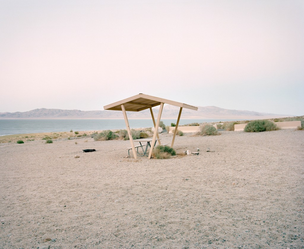 Rest stop at Walker Lake, Nevada, from The Last Stop: Vanishing Rest Stops of the American Roadside, by Ryann Ford