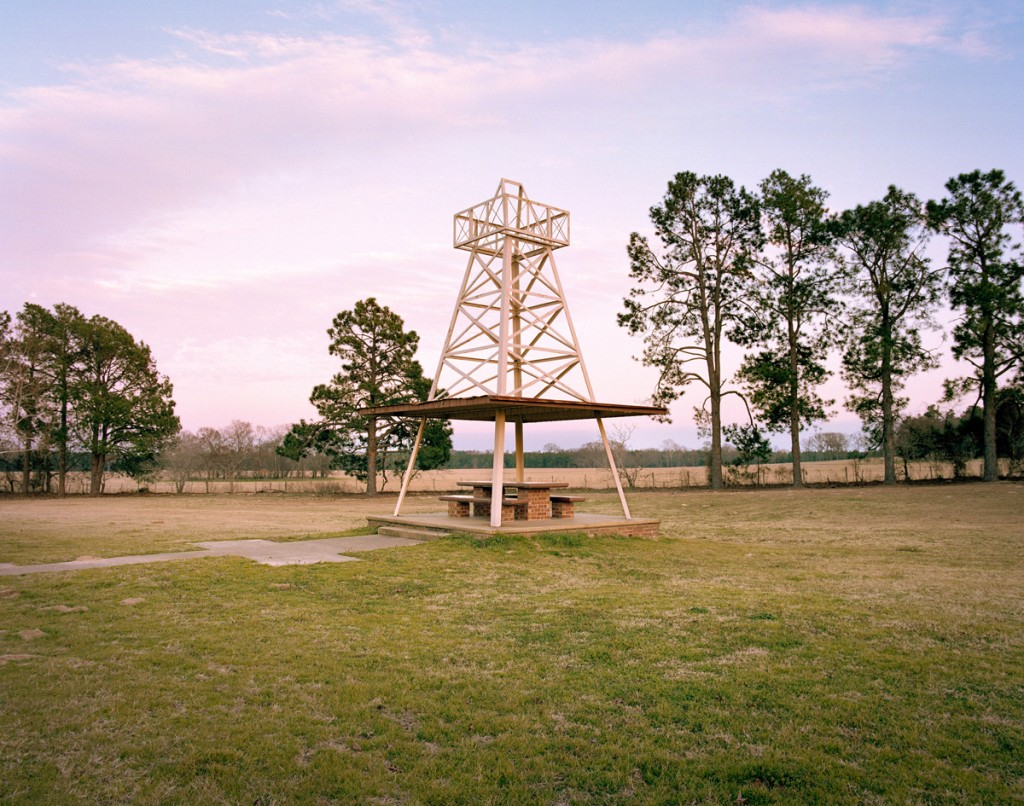 Rest stop at Winona, Texas, from The Last Stop: Vanishing Rest Stops of the American Roadside