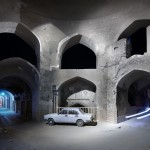 Image of deserted part of Yazd in Iran shot by Italian photographer Luca Campigotto