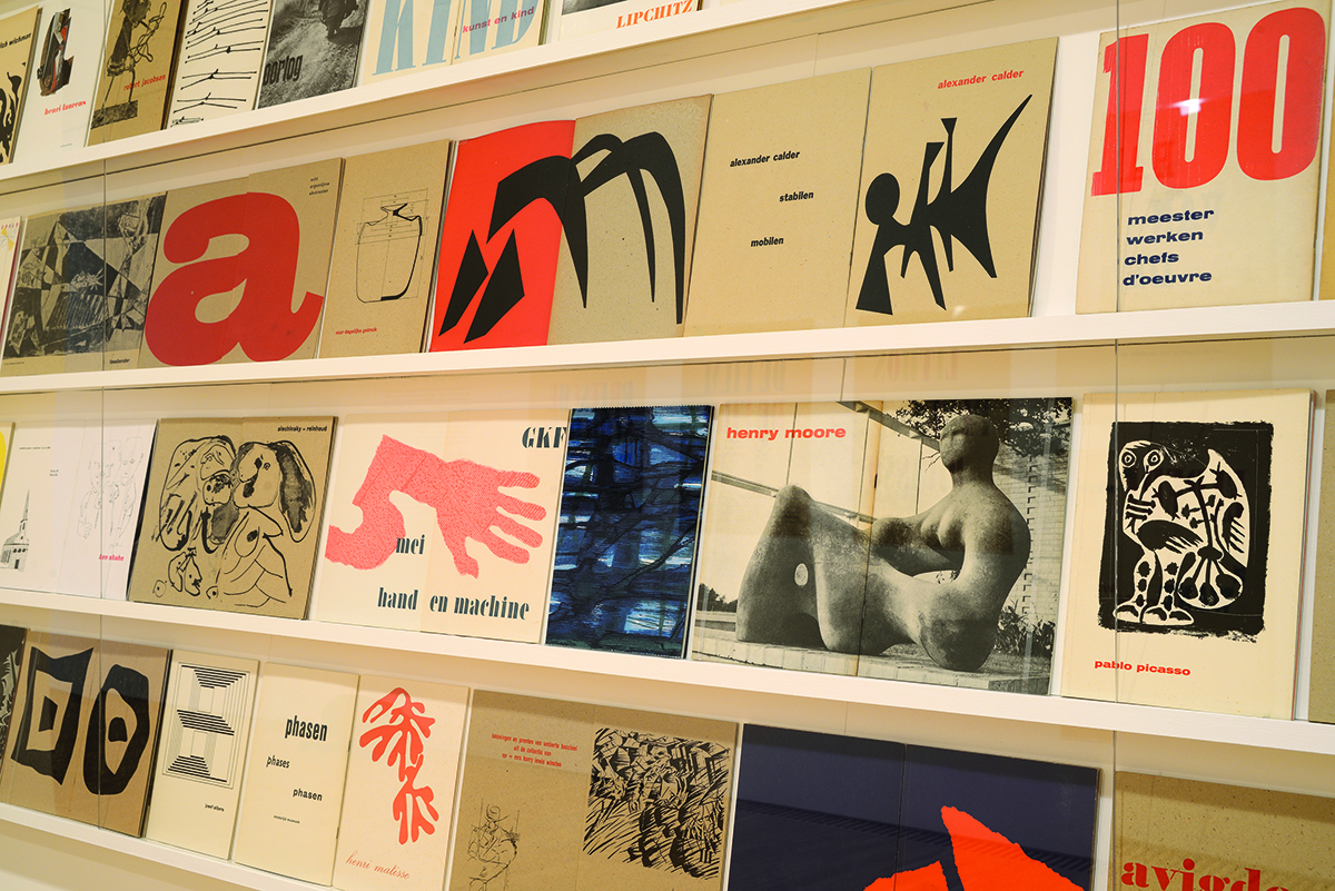 exhibition catalogues designed by willem sandberg