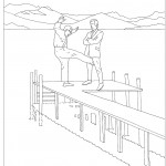 From Modern Toss's Mindless Violence Colouring Book