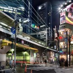Streets of Tokyo, shot by Italian photographer Luca Campigotto