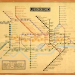London Tube map by Harry Beck. Image courtesy of TfL