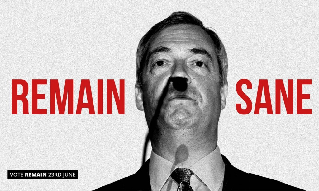 Unused poster by Saatchi & Saatchi for the Britain Stronger in Europe campaign