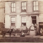Dr John Adamson's home on South Street, St Andrews, 1862. By John Adamson. Courtesy of the University of St Andrews Library: ALB-8-67