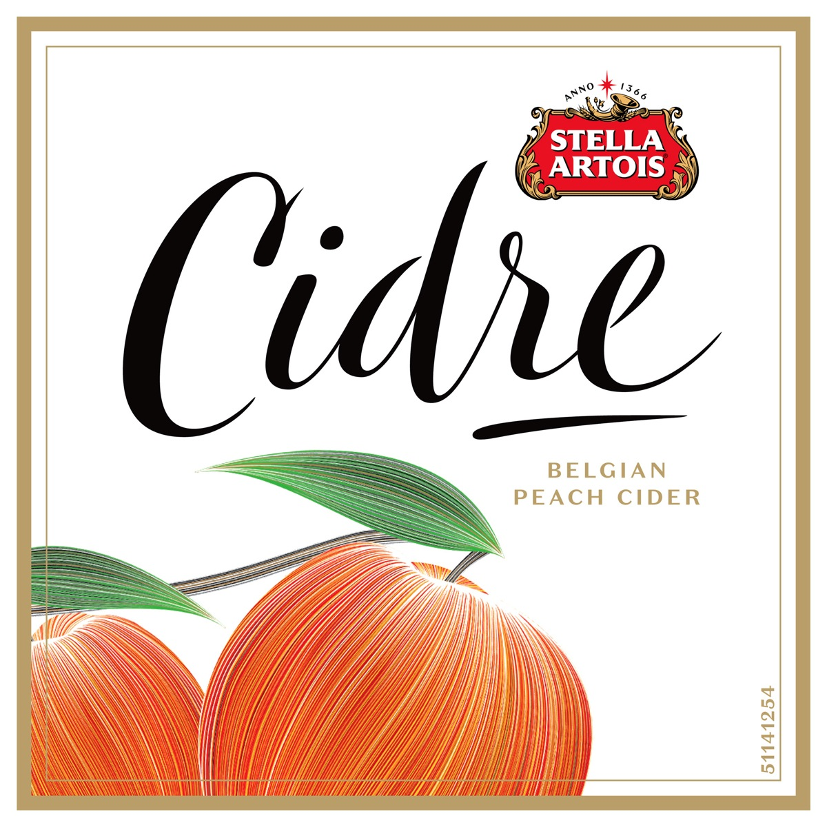 Cidre flavor labels-peach-2000-CRsite