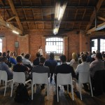 Coworking spaces like OGS Works' Bonded Warehouse are ideal for networking events