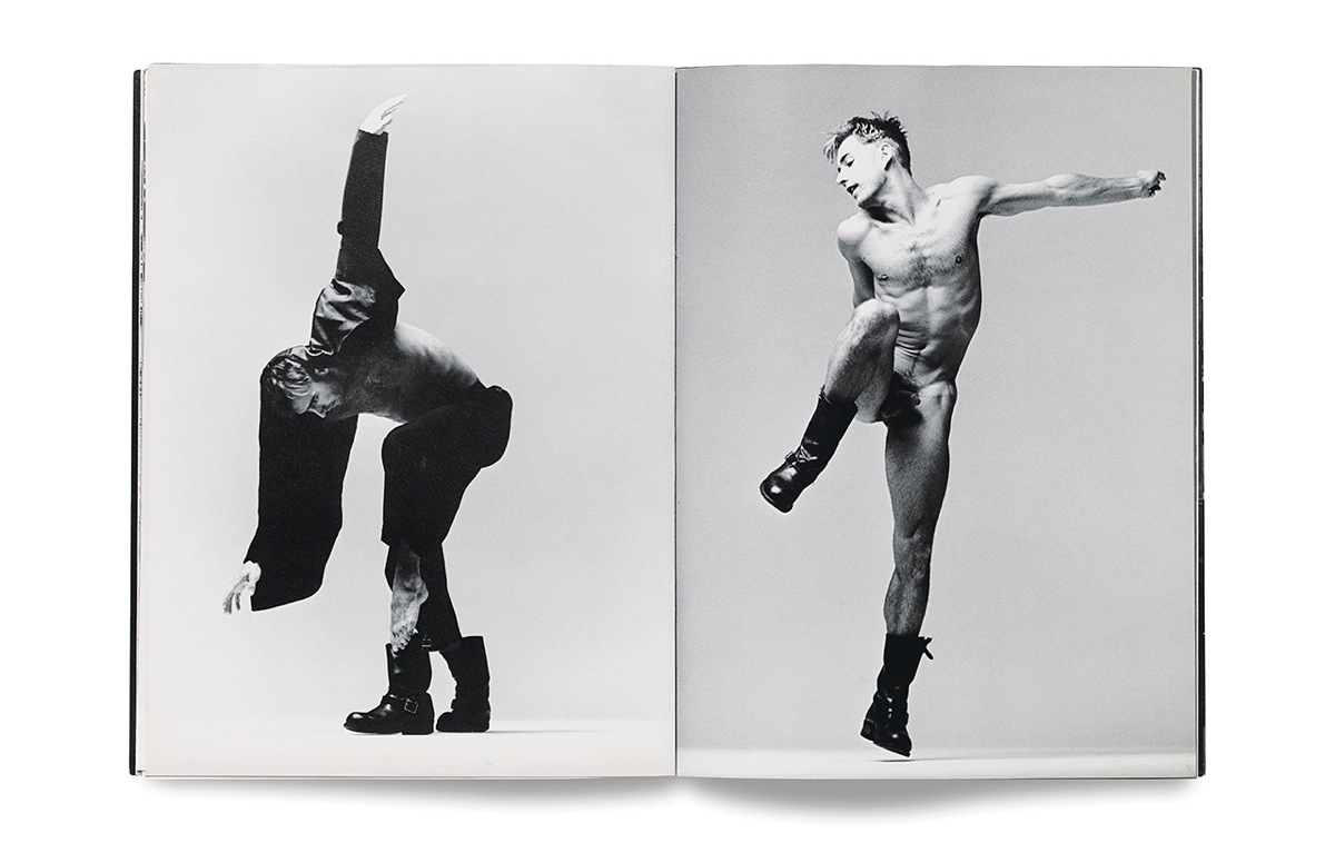 Photographs of dancer Lance Gries by Stewart Shining from the Winter 1993 issue