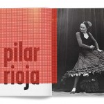 Flamenco dance legend Pilar Rioja photographed by K. C. Bailey in a 1995 issue