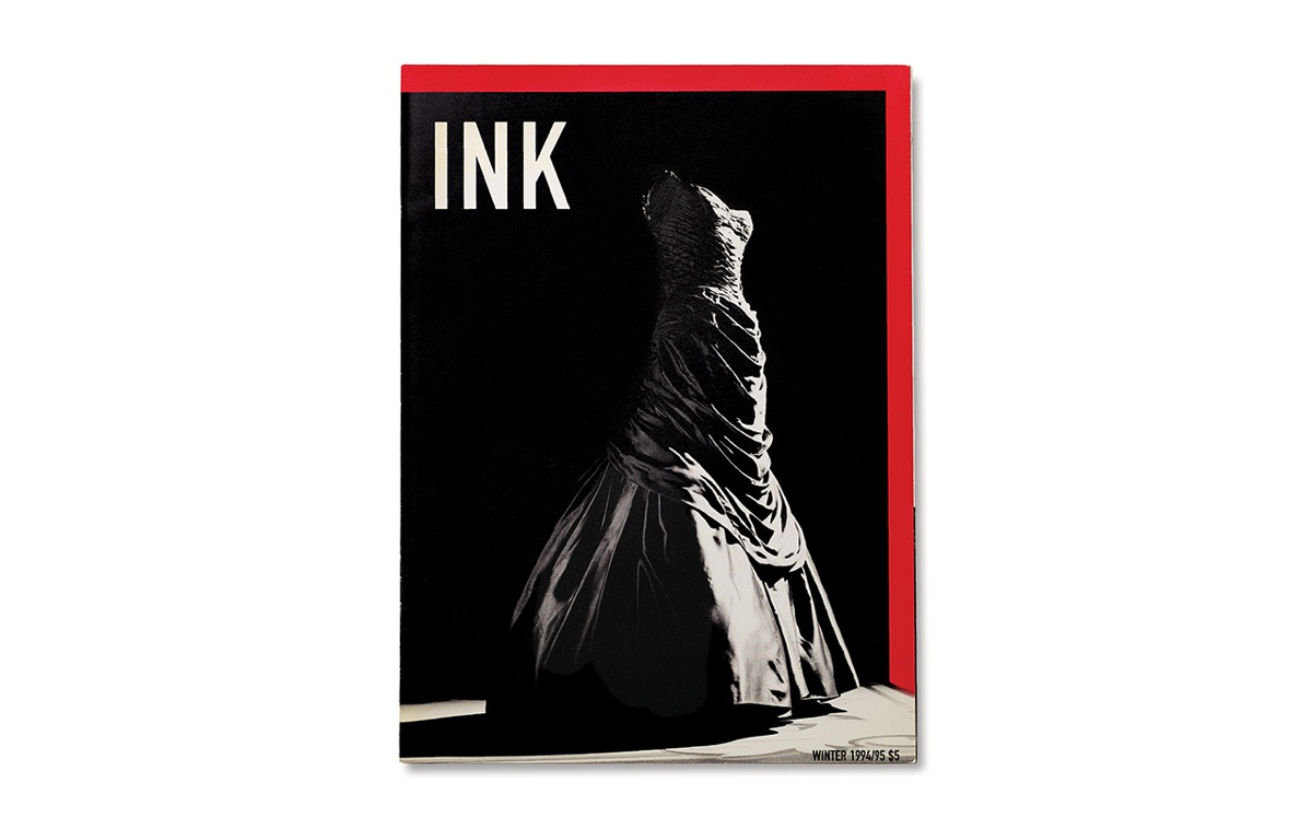 Cover of the Winter 1994 issue featuring a gown by Charles James photographed by Joanne Savio