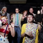 Photograph of a rave by Dave Swindles