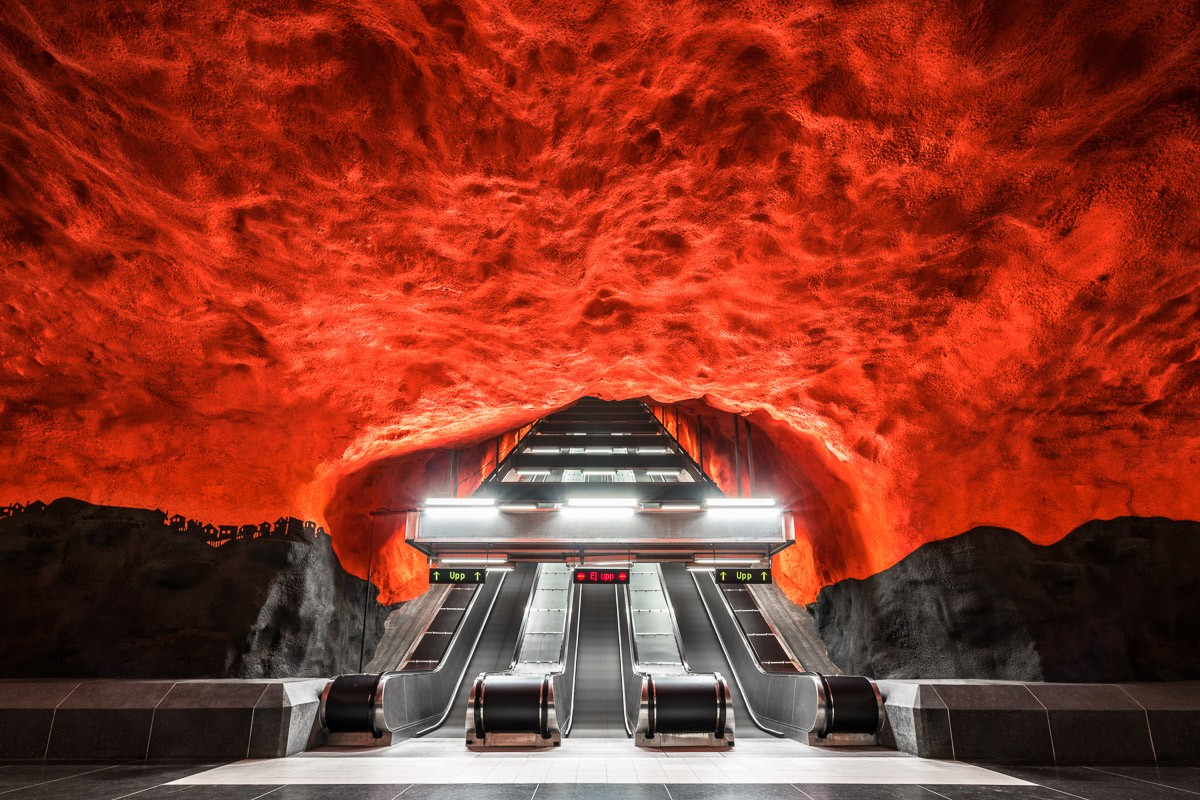 The Metro Project: some train stations really are beautiful