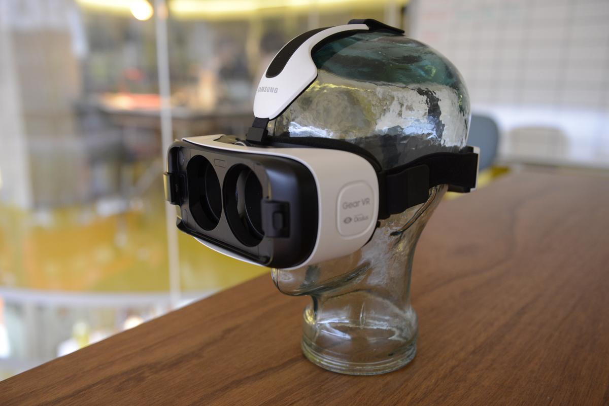 Samsung GearVR Note4 prototype