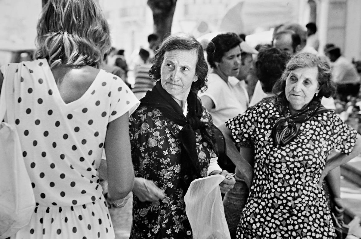 Mallorca, 1982. By David Peat. © David Peat Estate, courtesy of St Andrews University Library
