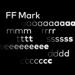FF Mark is the font used in the new Mastercard logo