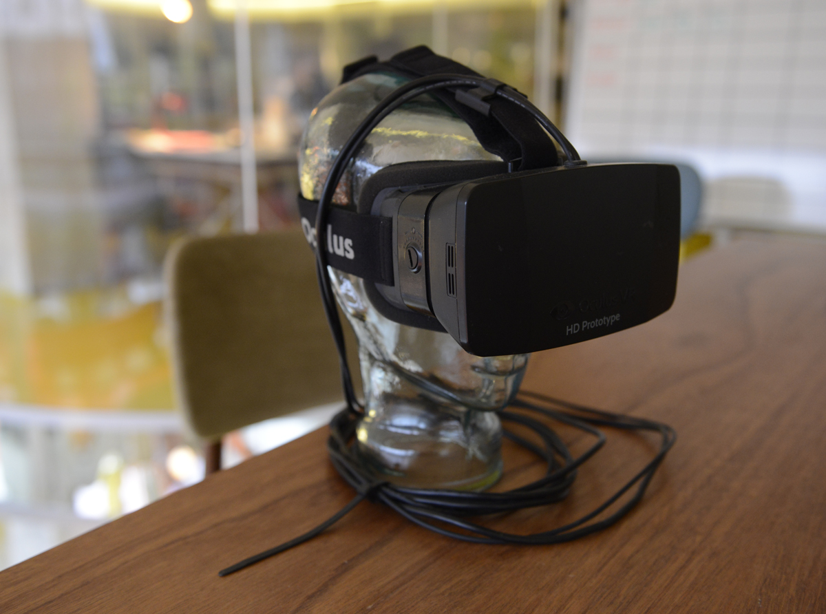 Oculus HD Prototype headset