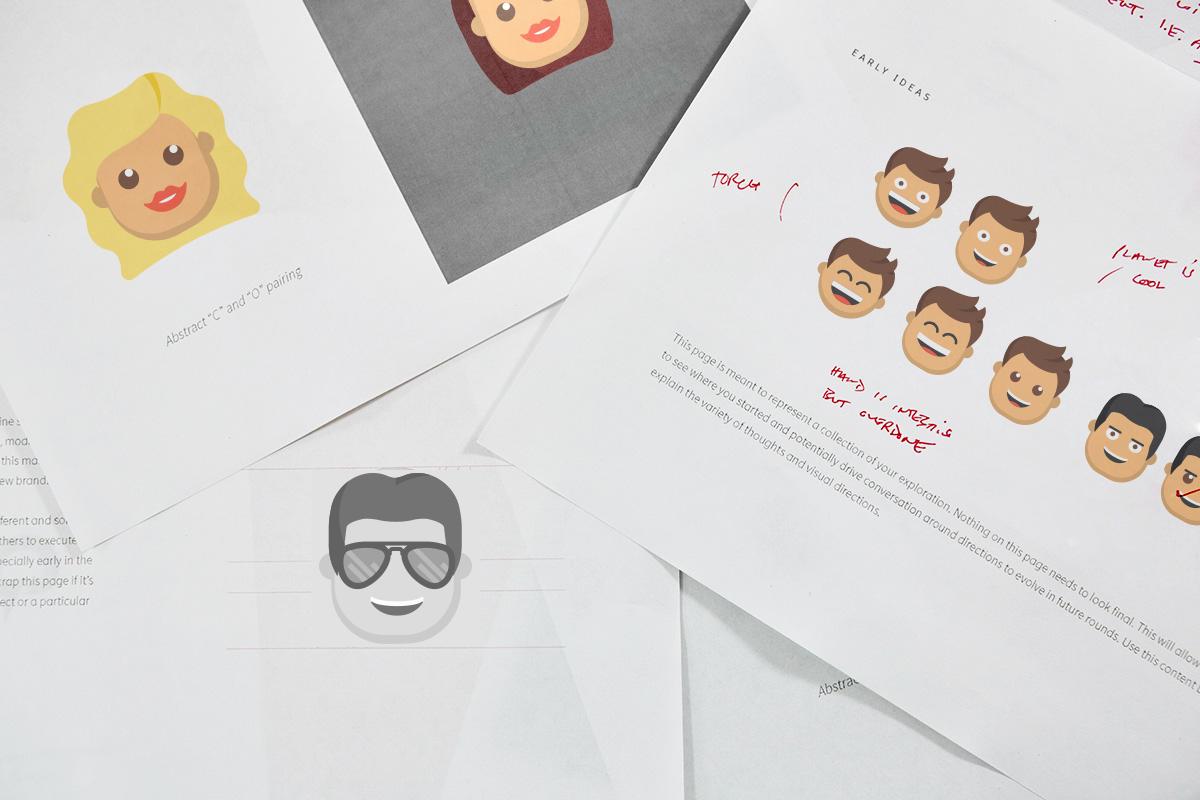 Designing emojis of the X Factor judges