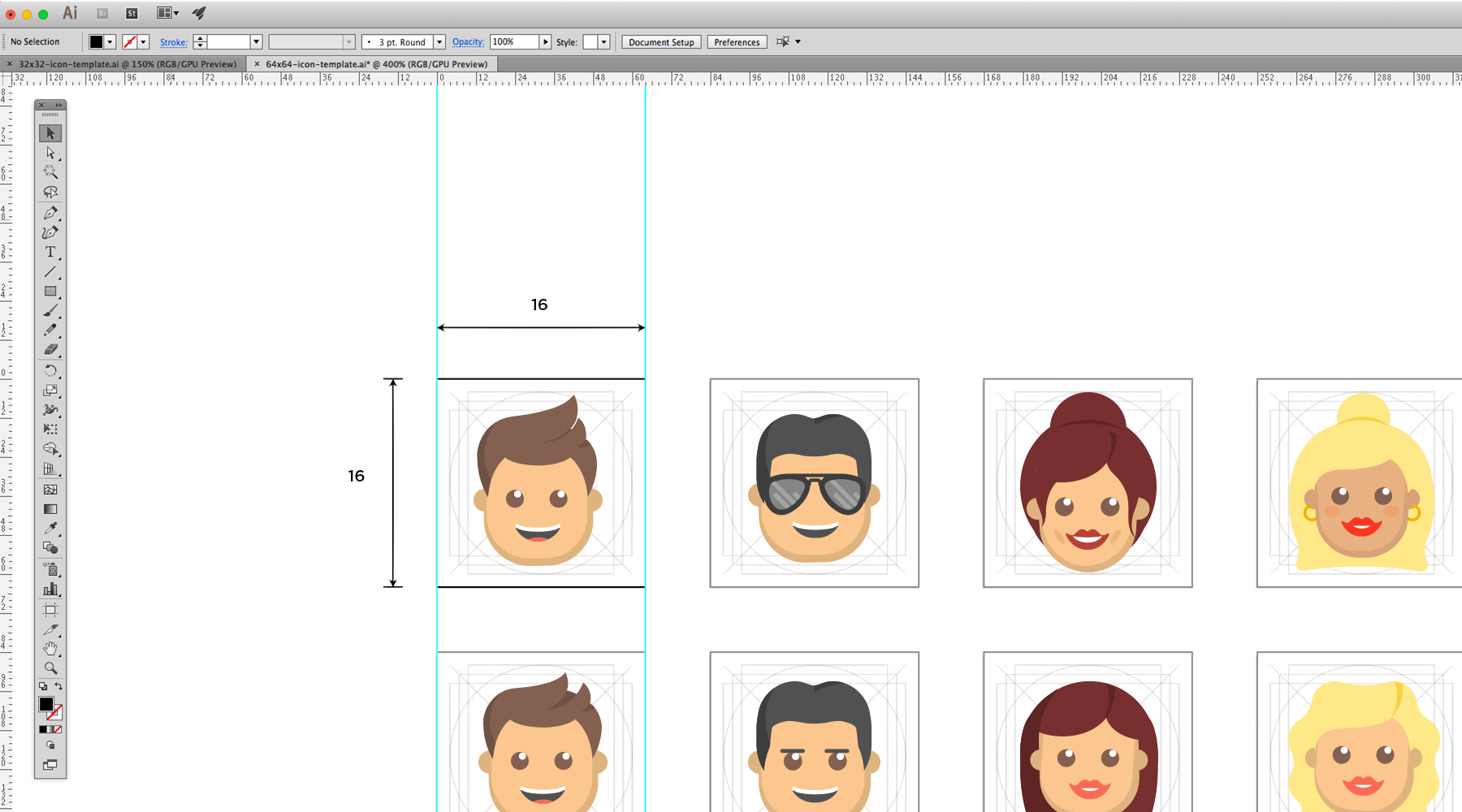 Designing emojis of the X Factor judges