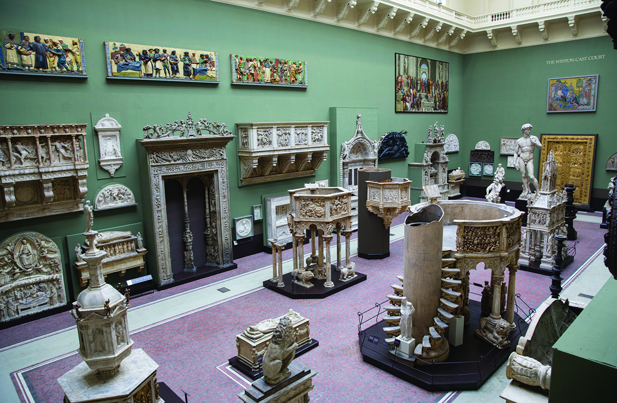 Weston Cast Court Victoria and Albert Museum