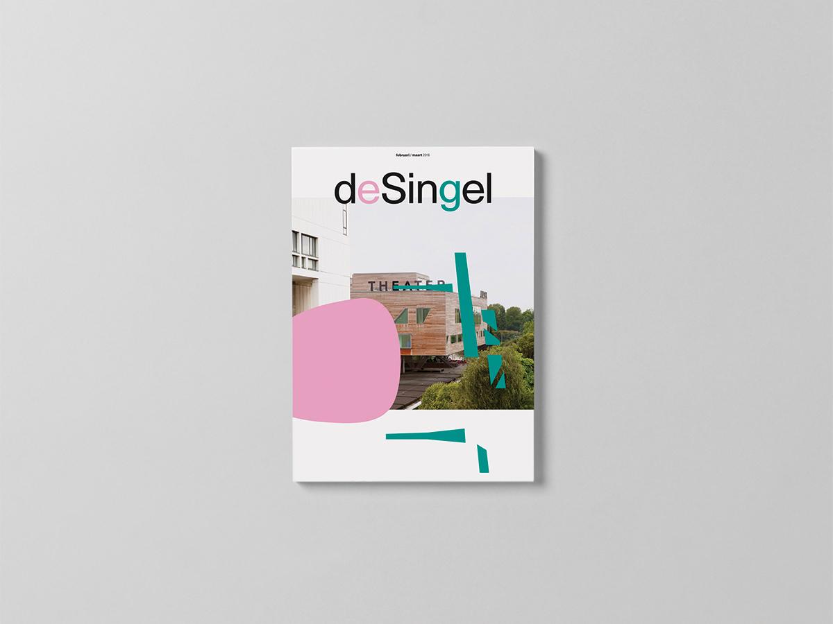 Desingel museum branding