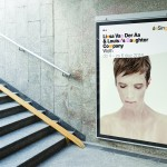 Poster for actor/singer Liesa Van der Aa's forthcoming performance of her album