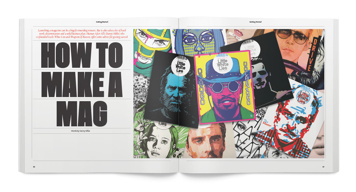 A step-by-step guide to launching a magazine from HAA's Danny Miller