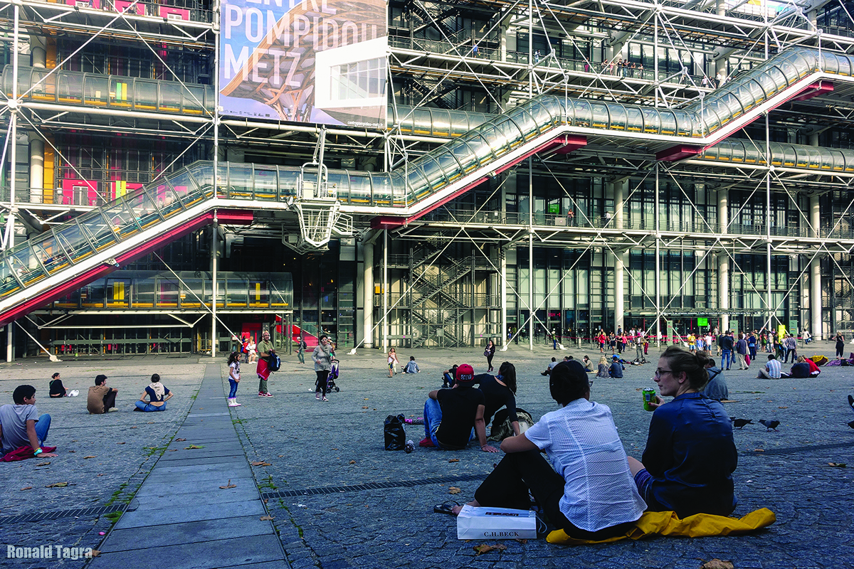centre george pompidou building