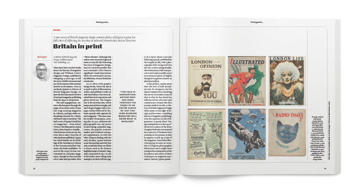 History of British Magazine Design in Creative Review