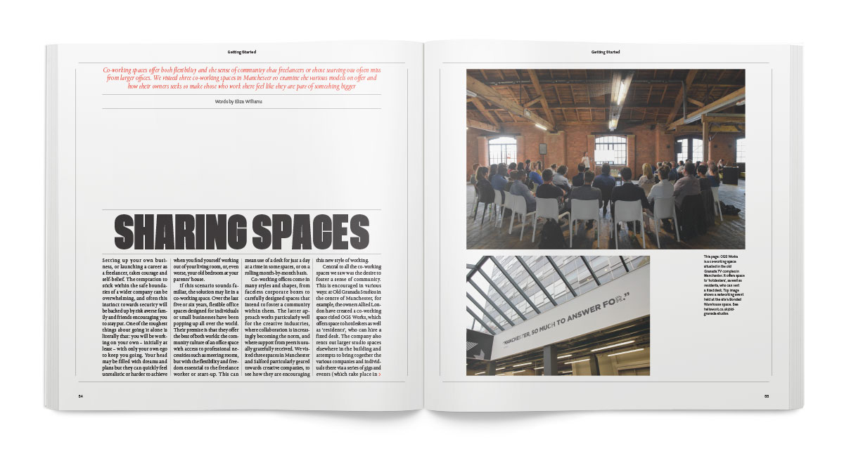 Co-working spaces explored: Eliza Williams visits three spaces in Manchester