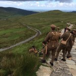 Soldiers near Snowden in Wales, with permission from 14-18 Now