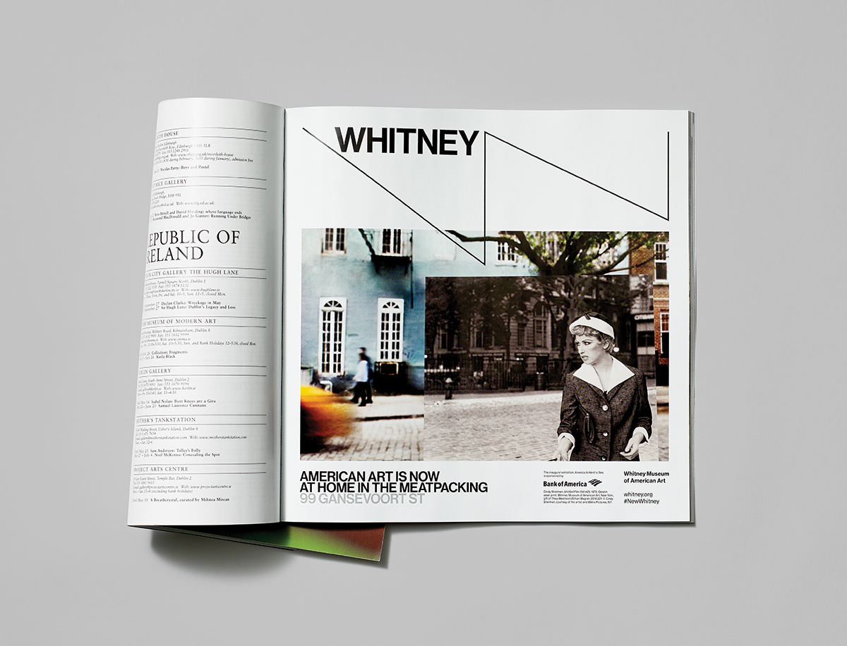 Branding for the whitney museum of american art