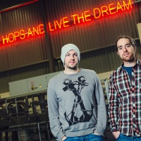 BrewDog co-founders James Watt (on leftl) and Martin Dickie who pioneered equity crowdfunding