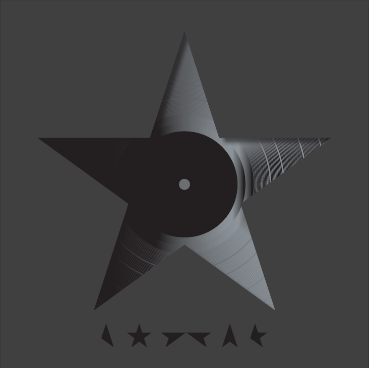 Barnbrook's cover design for David Bowie's final album Blackstar