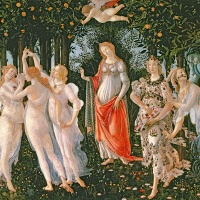 Image credit: Primavera, c.1478, (tempera on panel), Sandro Botticelli (1444/5-1510) / Galleria degli Uffizi, Florence, Italy / Bridgeman Images