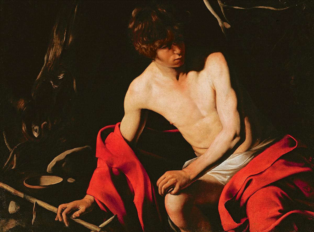 Image Credit: St. John the Baptist, c.1598-99 (oil on canvas), Michelangelo Caravaggio, (1571-1610) (attr. to) / Galleria Nazionale d'Arte Antica, Rome, Italy / Bridgeman Images