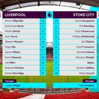 Premier League starting teams table by DixonBaxi