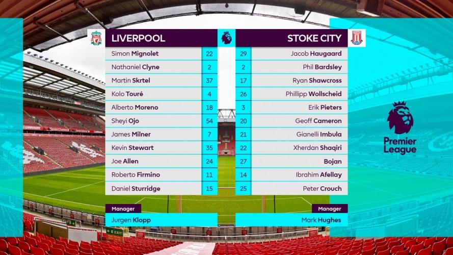 Premier League starting teams table by DixonBaxi