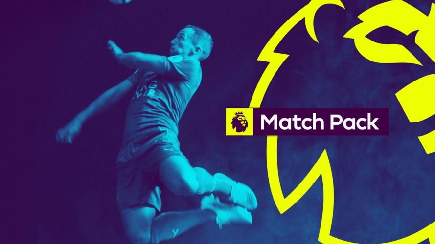 Premier League lion graphic show title sequence