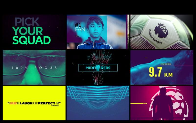 Premier League show title graphics by DixonBaxi