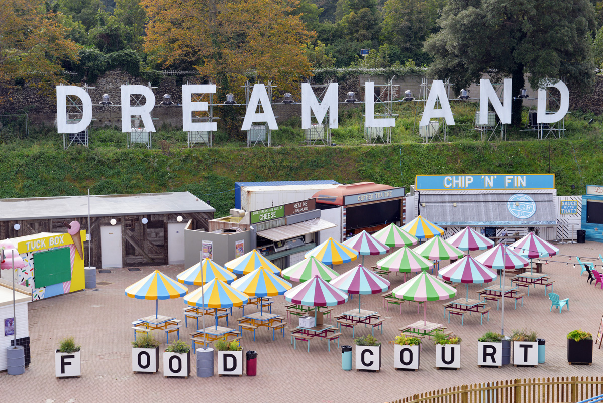 Margate's Dreamland theme park, designed by HemingwayDesign with Guy Holloway and Ray Hole Architects