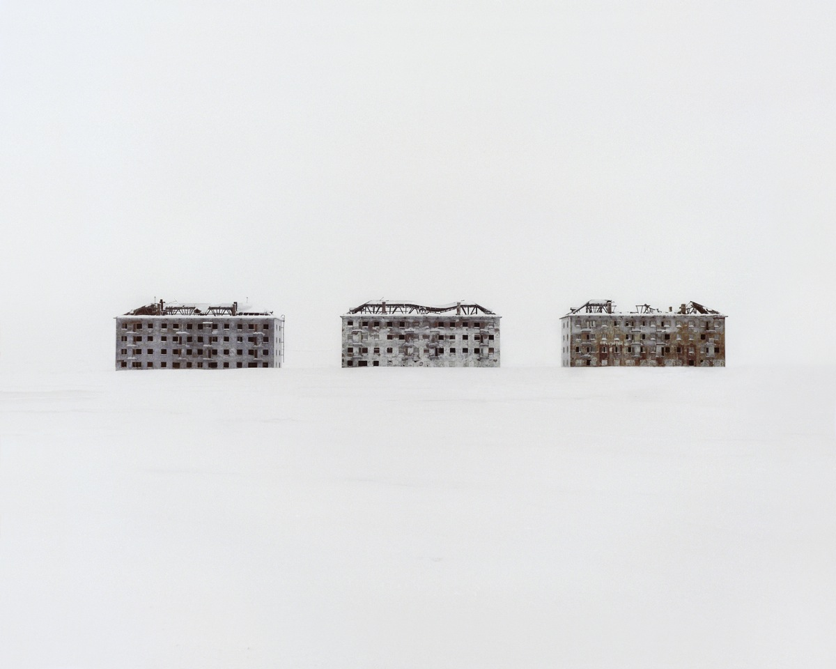 Danila Takatchenko, 2. Former residential buildings in a deserted polar scientific town specialised on biological research, 2015, from the Restricted Areas series, Courtesy of the artist-CRsite