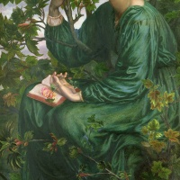 Image Credit: Day Dream, 1880 (oil on canvas), Dante Gabriel Rossetti (1828-82) / Victoria & Albert Museum, London, UK / Bridgeman Images