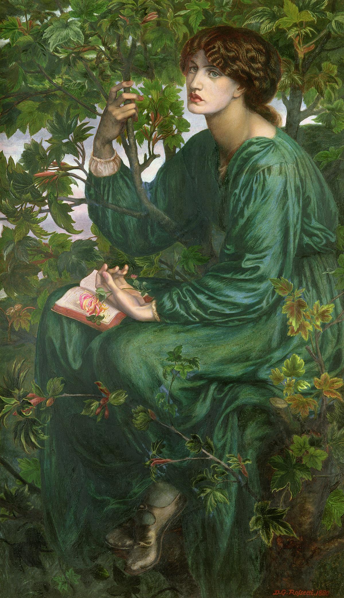 Image Credit: Day Dream, 1880 (oil on canvas), Dante Gabriel Rossetti (1828-82) / Victoria & Albert Museum, London, UK / Bridgeman Images