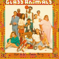 Glass Animals How to be a Human Being artwork