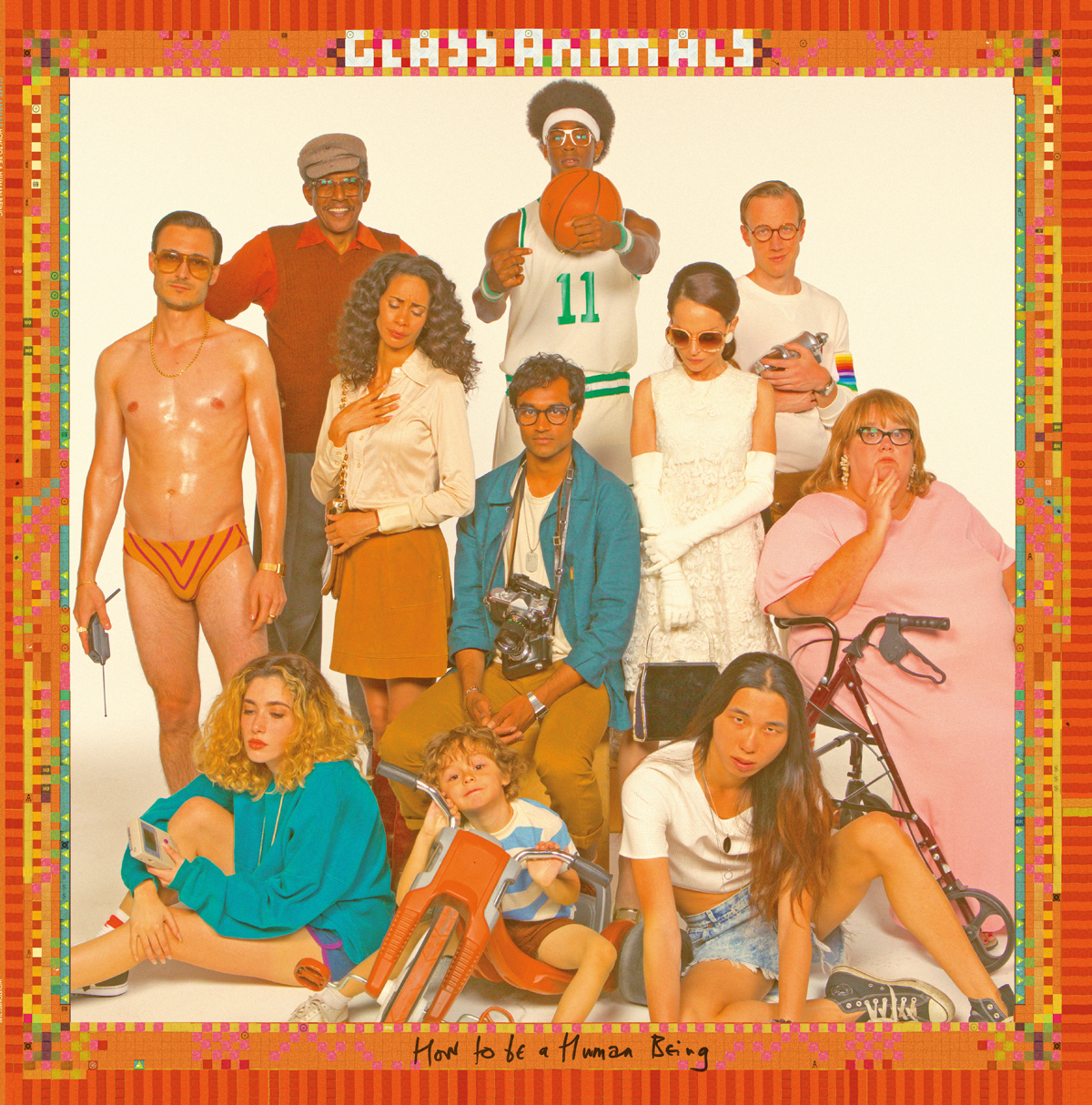 Glass Animals How To Be A Human Being Album Cover